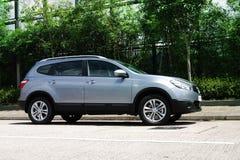 Nissan QASHQAI+2 zdjęcia stock