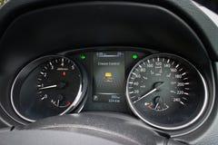 Nissan Qashqai dashboard in 2014 model Stock Photos