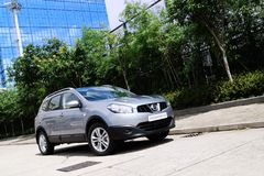 Nissan QASHQAI+2 Royalty Free Stock Images