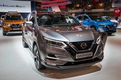 Nissan Qashqai skrzyżowania SUV ścisły samochód Obrazy Royalty Free
