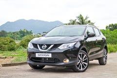 Nissan Qashqai test drive in Hong Kong Stock Image
