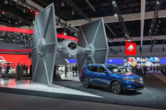 Nissan Rogue One Star Wars Stock Afbeelding