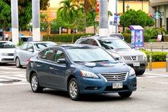 Nissan Sentra fotografía de archivo libre de regalías