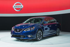 Nissan Sentra Stock Photo