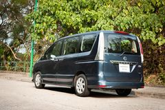 Nissan Serena Highway Star Royalty Free Stock Photography