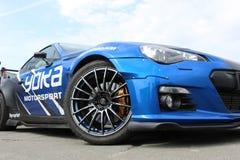 Nissan Silvia bij de afwijkingsconcurrentie De zomerkop stock fotografie