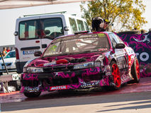 Nissan Silvia drift car Stock Images