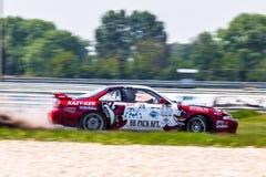 Nissan Silvia drift car Stock Photo