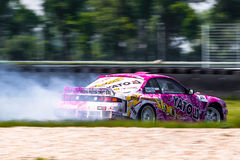 Nissan Silvia drift car royalty free stock image