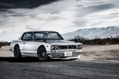 Nissan Skyline 2000GT-R (Hakosuka) Photo libre de droits