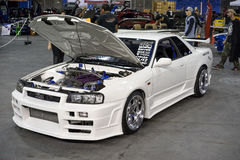 Nissan skyline Royalty Free Stock Images