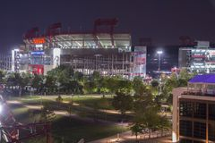 Nissan Stadium. Is a multi-purpose stadium in Nashville, Tennessee, United States, owned by the Metropolitan Government of Nashville and Davidson County Stock Photography