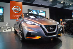 Nissan Stand: Nissan Sway Stock Images