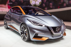Nissan Sway car Stock Images