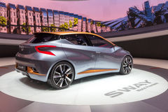 Nissan Sway car Stock Photography