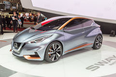 Nissan Sway Concept 2015 Photos stock