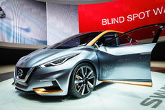 Nissan Sway, Motor Show Geneve 2015. Royalty Free Stock Photos