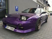 Nissan 180sx royalty free stock image