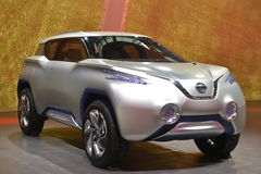 NISSAN TeRRA electric concept car Stock Image