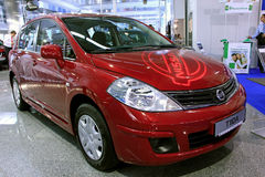 Nissan Tiida Stock Photography