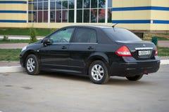 Nissan Tiida royalty free stock photography