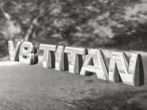 Nissan Titan Imagen de archivo libre de regalías