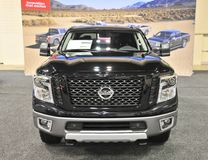 Nissan Titan XD Front View Brand New Royalty Free Stock Image
