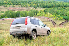 Nissan X-Trail Stock Images