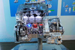 Nissan v6 3.5 lite engine Royalty Free Stock Photography