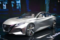 NISSAN Vmotion 2.0 concept car Stock Images