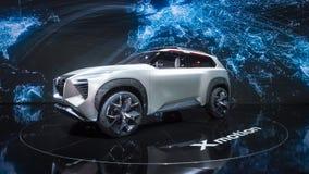 Nissan Xmotion Concept Car NAIAS Royaltyfri Fotografi