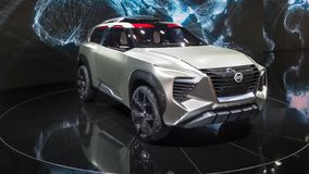 Nissan Xmotion Concept, NAIAS immagine stock
