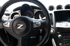 Nissan Z, Racing Car Interior, Motor Sport Stock Image