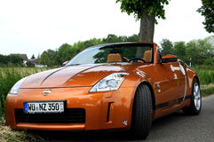 A Nissan 350Z Stock Images