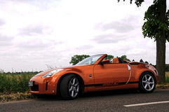 A Nissan 350Z Royalty Free Stock Photo