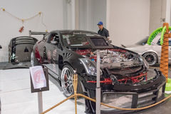 Nissan 350Z on display Royalty Free Stock Photography