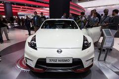 Nissan 370Z Nismo przy IAA 2015 Obraz Stock