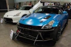 Nissan 350Z op vertoning Royalty-vrije Stock Foto's