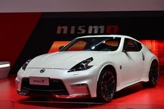 NISSAN 370Z saloon car Stock Image