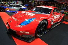 Nissan 350Z sports car Bangkok Auto Salon Stock Images