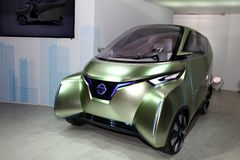 The Nissan Zero Emission Concept Stock Photo