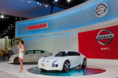 Nissan Zero Emission Concept Stock Photography