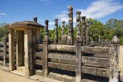 Nissankalata Mandapa, Polonnaruwa, Sri Lanka Royalty Free Stock Photography
