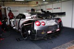 NISSANS GT-R (FIA GT) Stockfotos