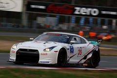 NISSANS GTR (LA FIA GT) Photographie stock libre de droits