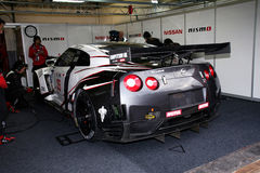 NISSANS GTR (LA FIA GT) Photos stock