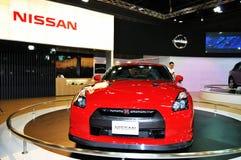 Nissans GTR sur l'affichage Photos stock