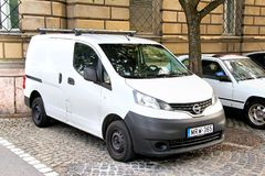 Nissans nv200 Photographie stock