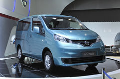 Nissans NV200 Lizenzfreies Stockbild