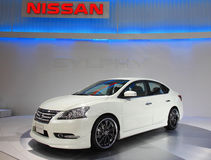 Nissans Sylphy images stock